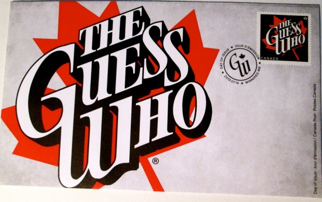 The Guess Who Official First Day Cover